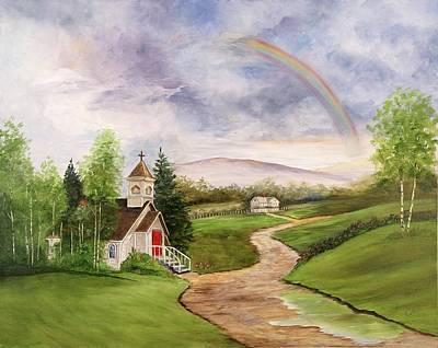 Painting - After The Storm by Marti Idlet