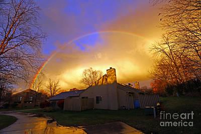 Rainbow Glow Art Print by Steve  Gass