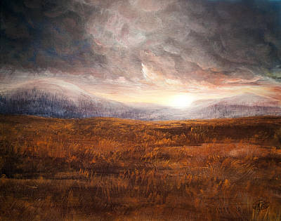 Wall Art - Painting - After The Storm - Warm Tones by Jessica Tookey