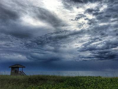 Photograph - After The Storms Delay Beach Florida by Lawrence S Richardson Jr