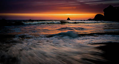 Photograph - After The Sunset by TL Mair