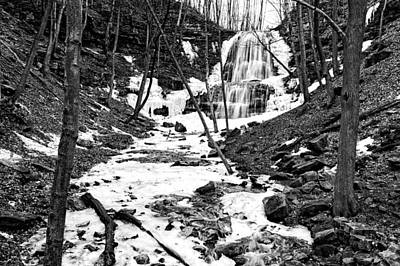 After The Thaw At Sherman Falls Original by Phill Doherty