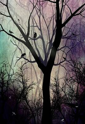 After Twilight Art Print by Charlene Zatloukal