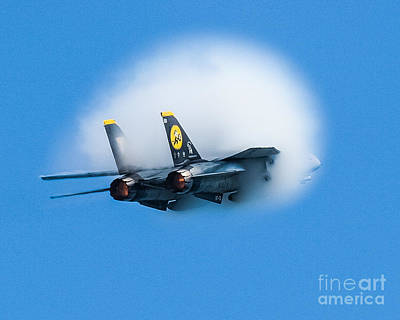 Afterburners Ablaze Art Print