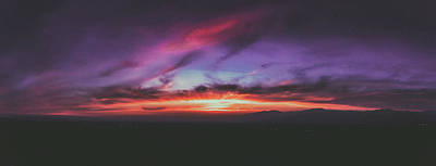 Afterglow Photograph - Afterglow 1 by Lonnie Christopher