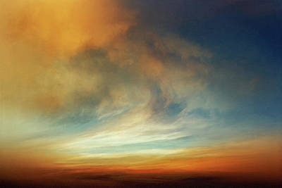 Jmw Painting - Afterglow by Lonnie Christopher