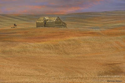 Photograph - Afterglow On The Palouse by Patricia Dennis