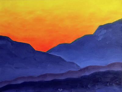 Painting - Afterglow by Robert J Diercksmeier