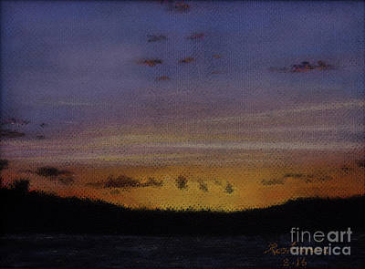 Painting - Afterglow by Roshanne Minnis-Eyma