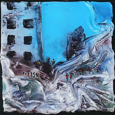 Mixed Media - Aftermath 2 by Angela Stout