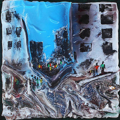 Mixed Media - Aftermath 3 by Angela Stout