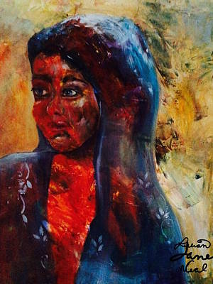 Mideast Painting - Aftermath by Lillian Neal