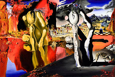 Painting - Aftermath Of Narcissus - After Dali- by Ryan Demaree