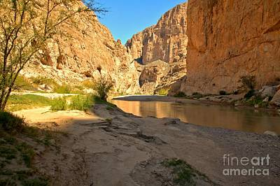 Photograph - Afternoon At Boquillas Canyon by Adam Jewell