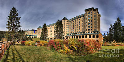 Photograph - Afternoon At Chateau Lake Louise by Adam Jewell