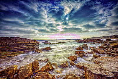 Photograph - Afternoon At Crystal Cove by Rick Berk