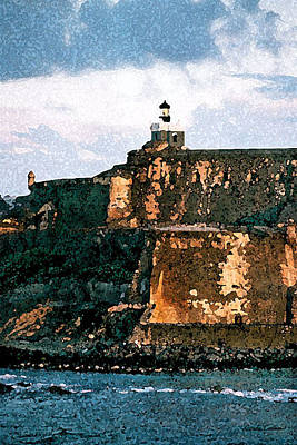 Photograph - Afternoon At El Morro by Donna Corless