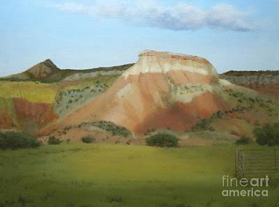 Painting - Afternoon At Ghost Ranch by Phyllis Andrews