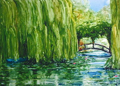 Painting - Afternoon At Giverny by Suzanne Krueger