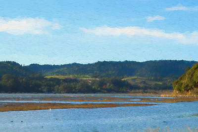 Photograph - Afternoon At Marin Wetlands by Bonnie Follett