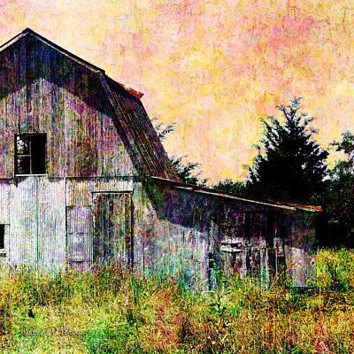 Digital Art - Afternoon At The Barn by Barbara Berney