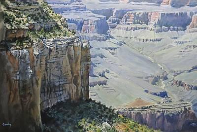 Afternoon At The Canyon Art Print