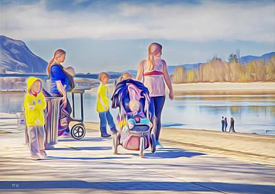 Photograph - Afternoon At The Park by Theresa Tahara