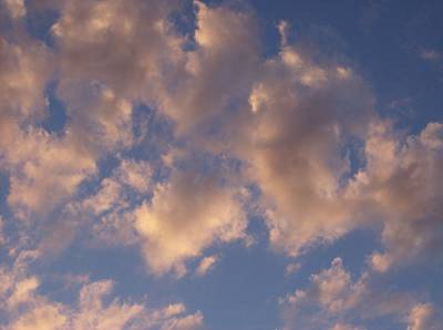 Afternoon Clouds Art Print by Susan Pedrini