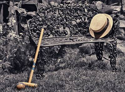 Peg Game Photograph - Afternoon Croquet by JAMART Photography