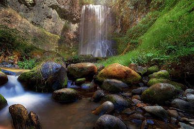 Photograph - Afternoon Delight At Upper Bridal Veil Falls by David Gn