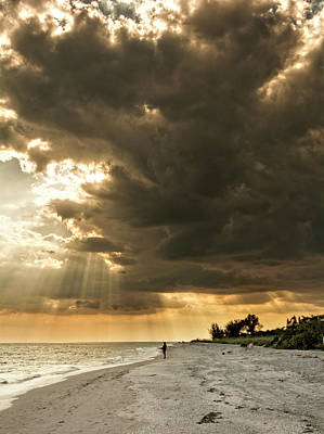 Photograph - Afternoon Fishing On Sanibel Island by Chrystal Mimbs