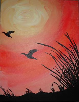 Painting - Afternoon Flight by Susan Snow Voidets