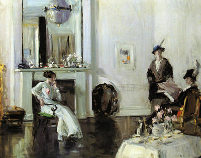 Scottish Colourist Painting - Afternoon by Francis Cadell