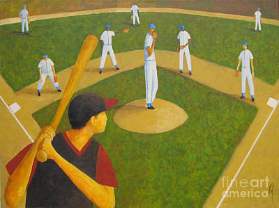 Painting - Afternoon Game by Glenn Quist