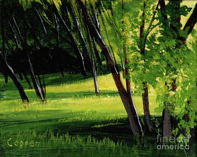 Painting - Afternoon Glow by Robert Coppen