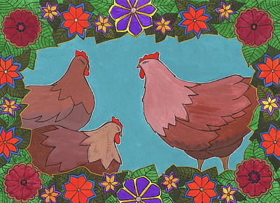 Painting - Afternoon Gossip by Michele Bullock
