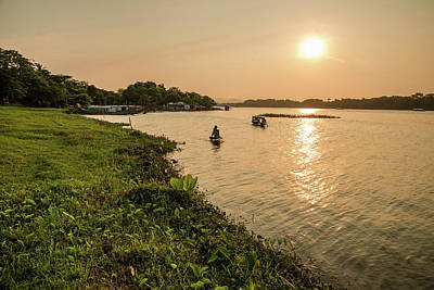 Photograph - Afternoon Huong River #2 by Tran Minh Quan