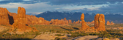 Photograph - Afternoon In Arches National Park by Aaron Spong