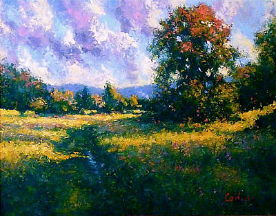 Afternoon In Dutchess County Art Print by Gene Cadore