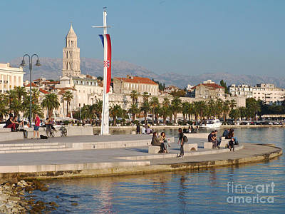 Photograph - Afternoon In Split - Croatia  by Phil Banks