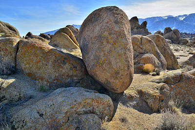 Photograph - Afternoon In The Alabama Hills by Ray Mathis