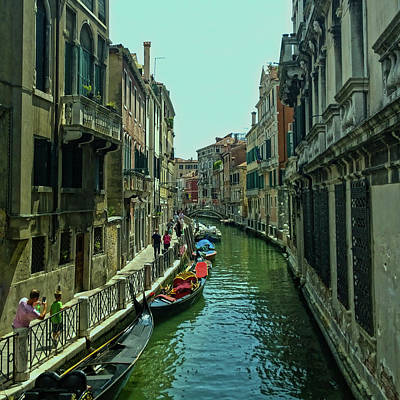 Photograph - Afternoon In Venice by Anne Kotan