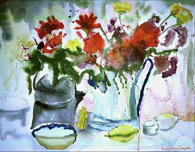 Painting - Afternoon Lemonade by Meda J