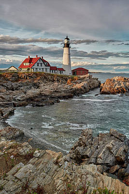 Photograph - Afternoon Light At Cape Neddick by Jon Glaser