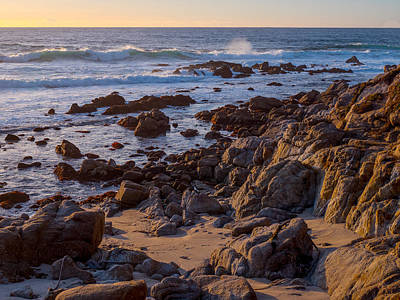 Photograph - Afternoon Light At Carmel Point by Derek Dean