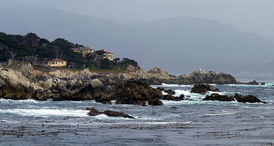Photograph - Afternoon Light On California's Monterey Peninsula by Carla Parris