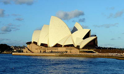 Photograph - Afternoon Light On The Sydney Opera House by Carla Parris