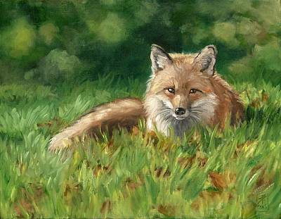 Painting - Afternoon Nap by Brandy Woods