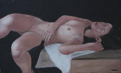 Painting - Afternoon Nap by Masami Iida