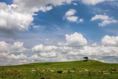 Photograph - Afternoon On The Prairie by Scott Bean